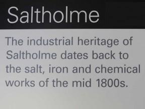 Saltholme sign